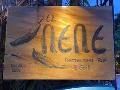 El Nene is a great restaurant in Puerto Escondido, Oaxaca