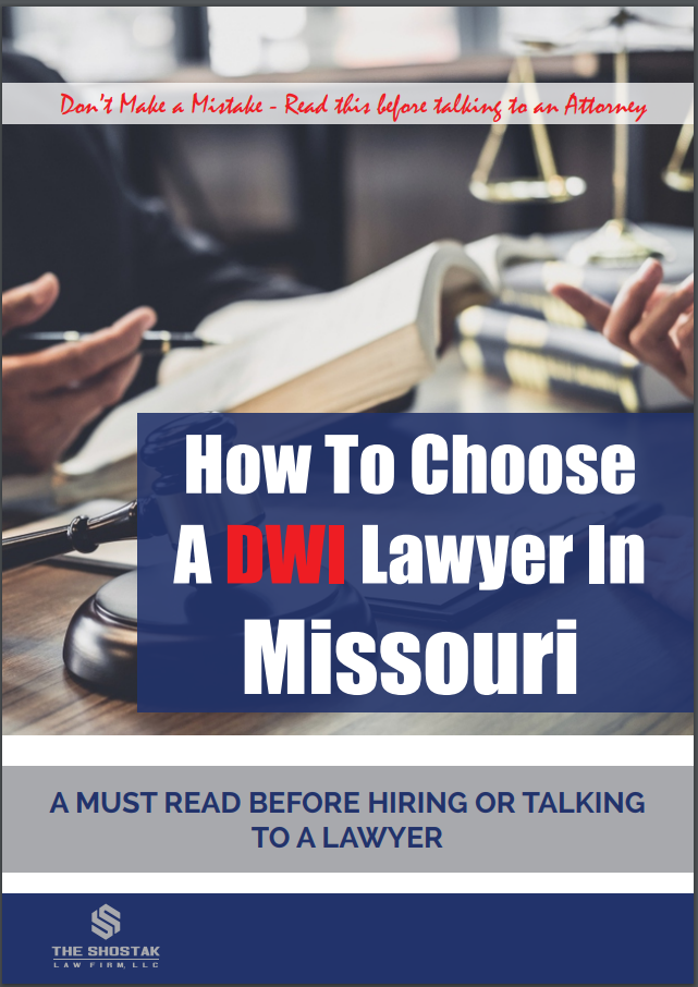 How to Choose a DWI Lawyer in Missouri