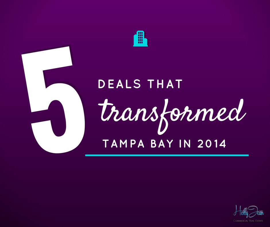 5 Deals That transformed Tampa Bay in 2014