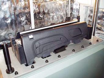 Upper bolster vibration weld