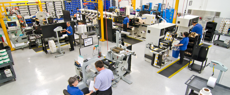 ISO 9001 Coast Label Pressroom