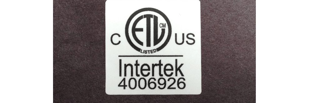 ETL Labels and Stickers