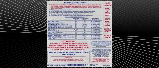 UL Kit Label