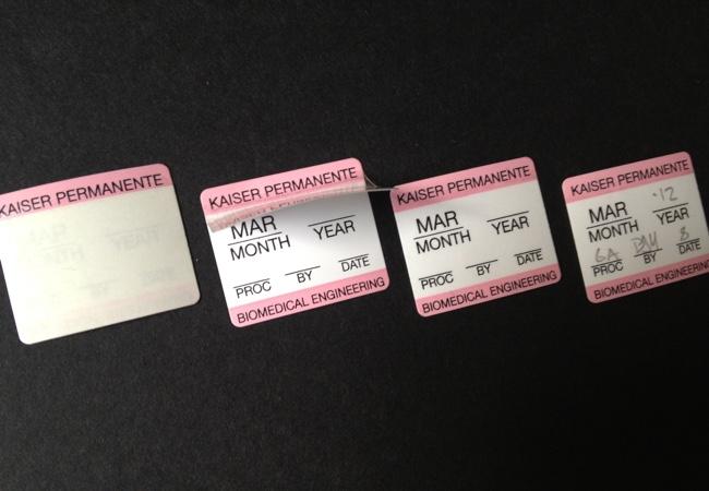 Self-Laminating Labels