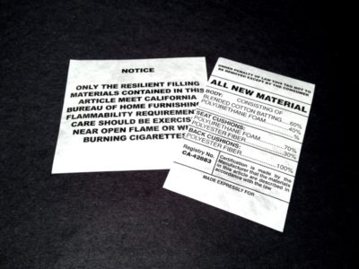 Non-Adhesive Tags manufactured by Coast Label Company
