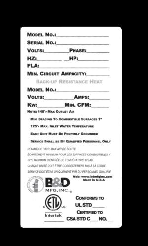 custom etl labels