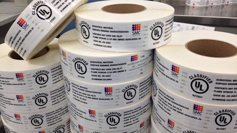 UL 969 Labels