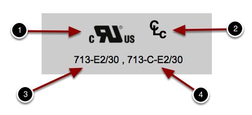 UL 969 Core Label
