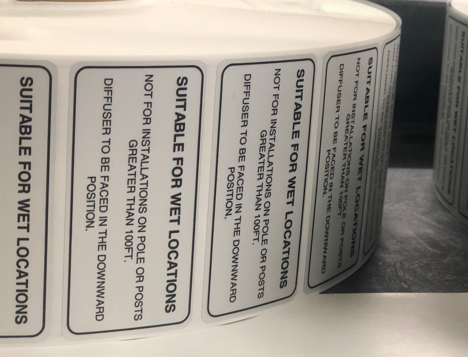 Waterproof Polyester Labels