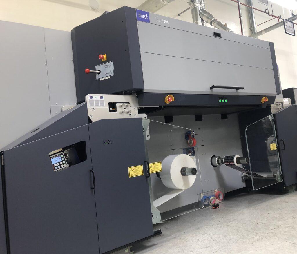 Digital Label Printing Press