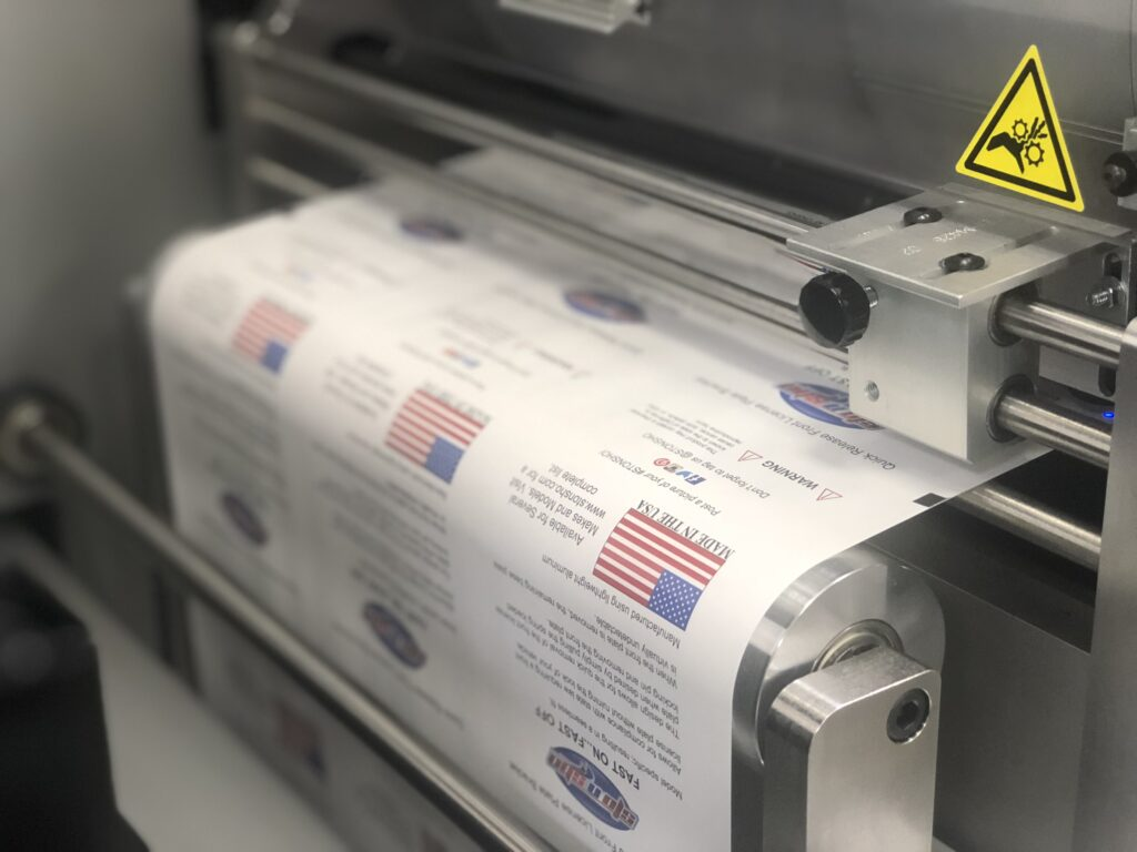 Made in USA Digital Labels