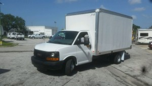 Action upfited New Box Truck for Absolute Plumbing