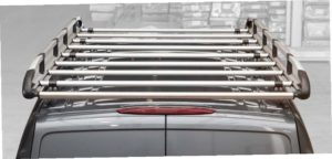 Have Action add a ladder rack to your upfit. The Cargo + is constructed from highly robust aluminum alloy and advanced polymer-based composites.
