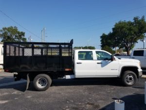 Trucks on the Jobsite – Action Fabrication and Truck Equipment