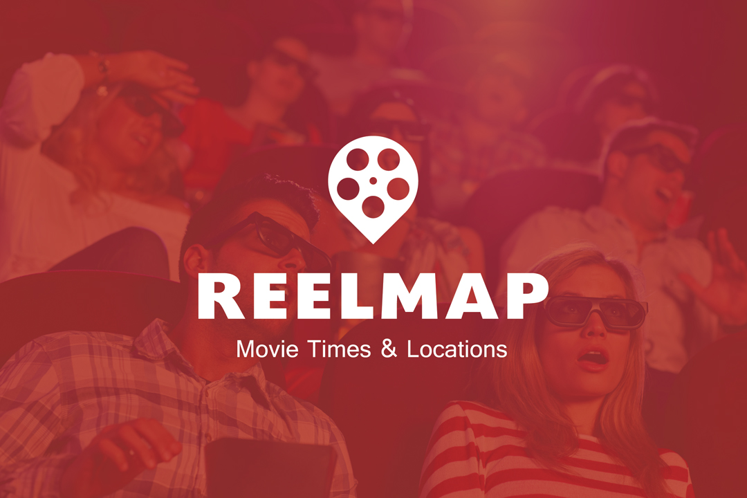 Real Map Logo with Background