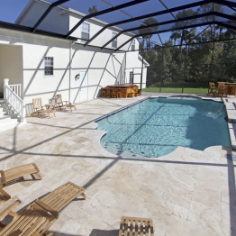 Outside Patio with Pool | Real Estate Photography FL