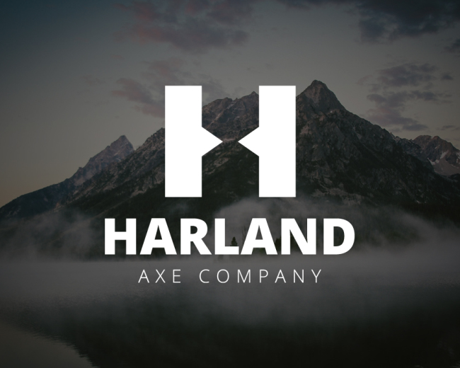 Harland Axe Co. Logo Design