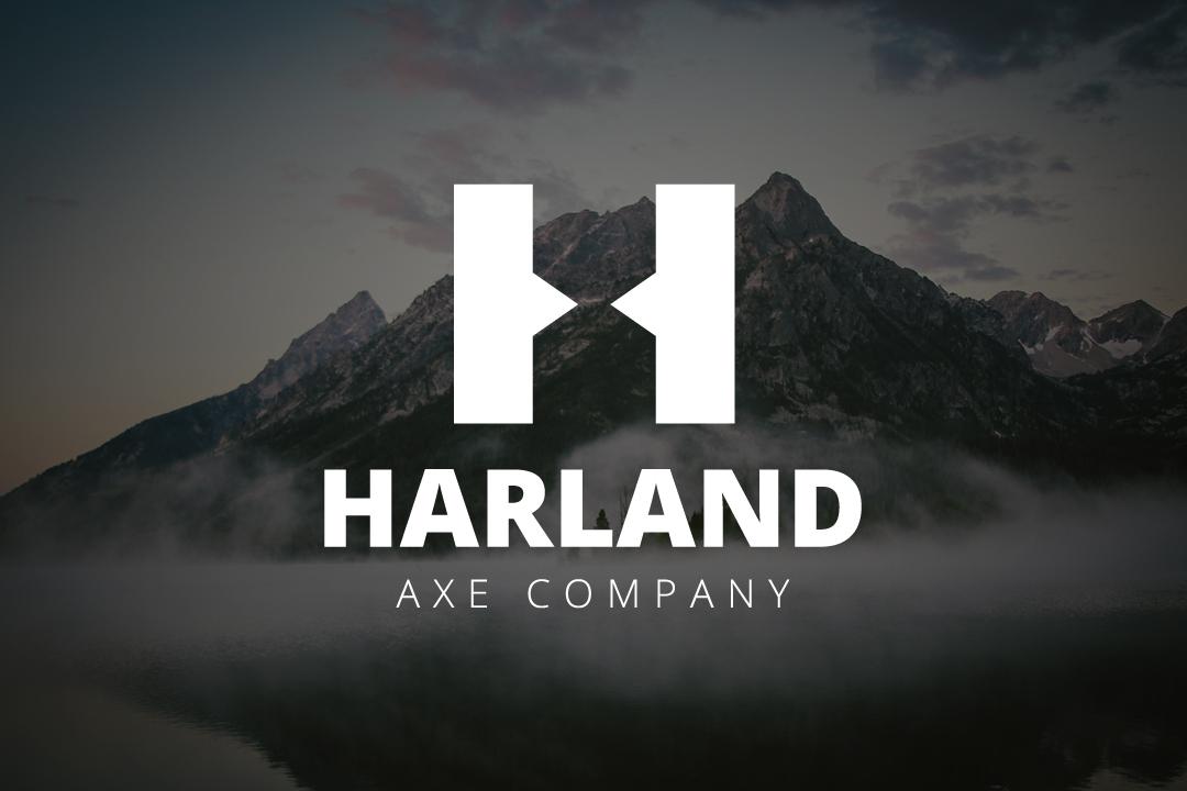 Harland Axe Company Logo Example