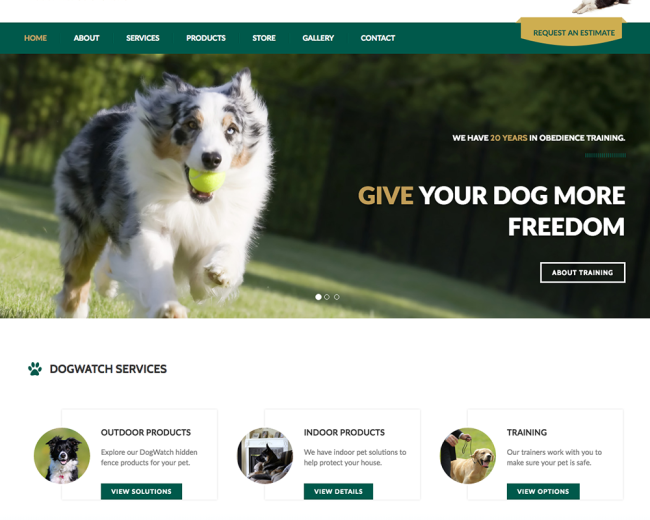 Dogwatch CT Web Design
