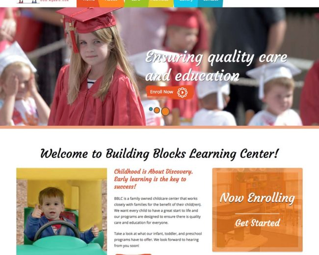 Building Blocks – Website Design