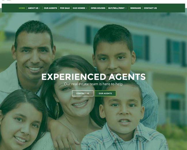 Kaerus Real Estate – Website Design