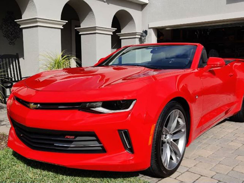 Camaro We Use for Networking