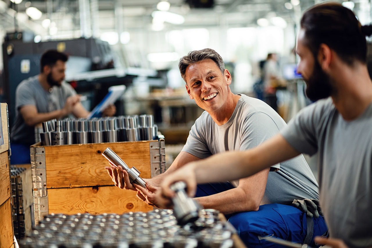 Manufacturing Process with Managers