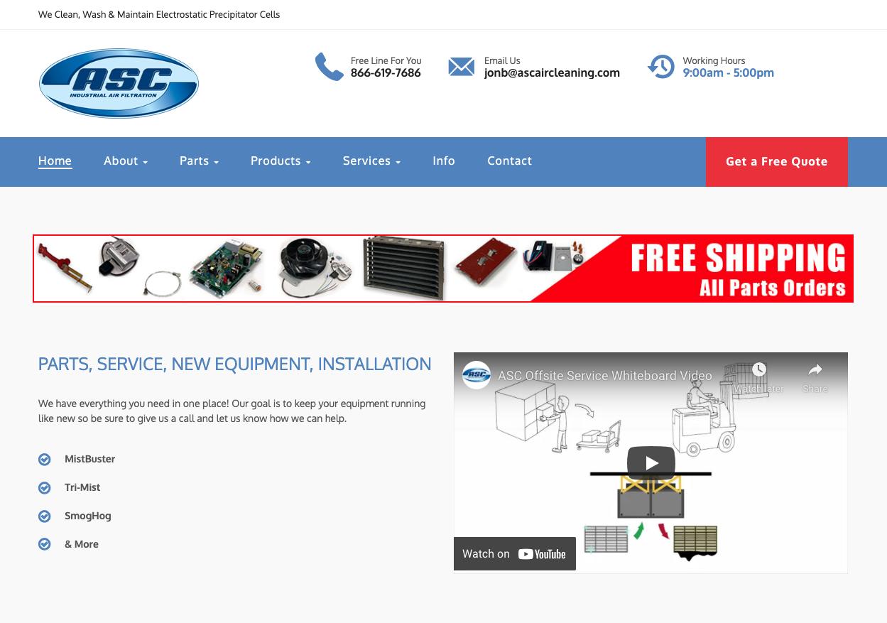 ASC Industrial Air Website