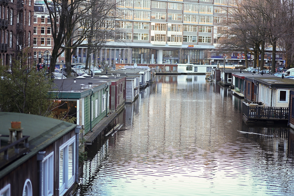 House Boats in Amsterdam-Killeen Photographer