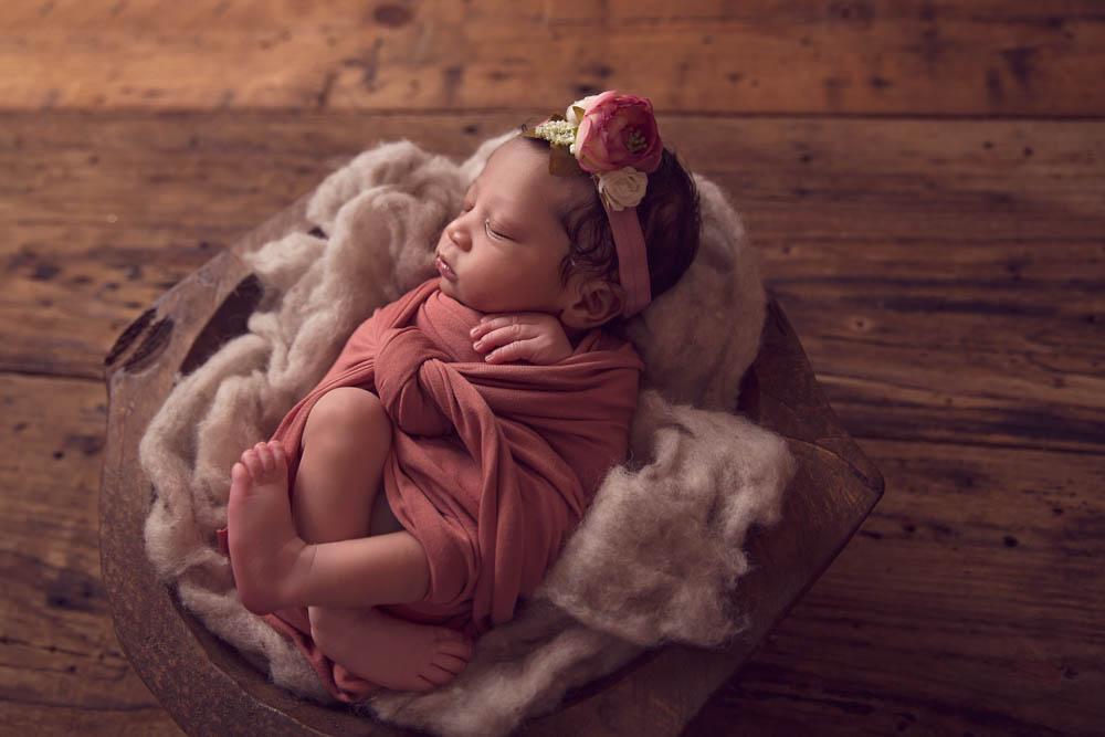 Houston newborn photographer specializing in newborn portraits