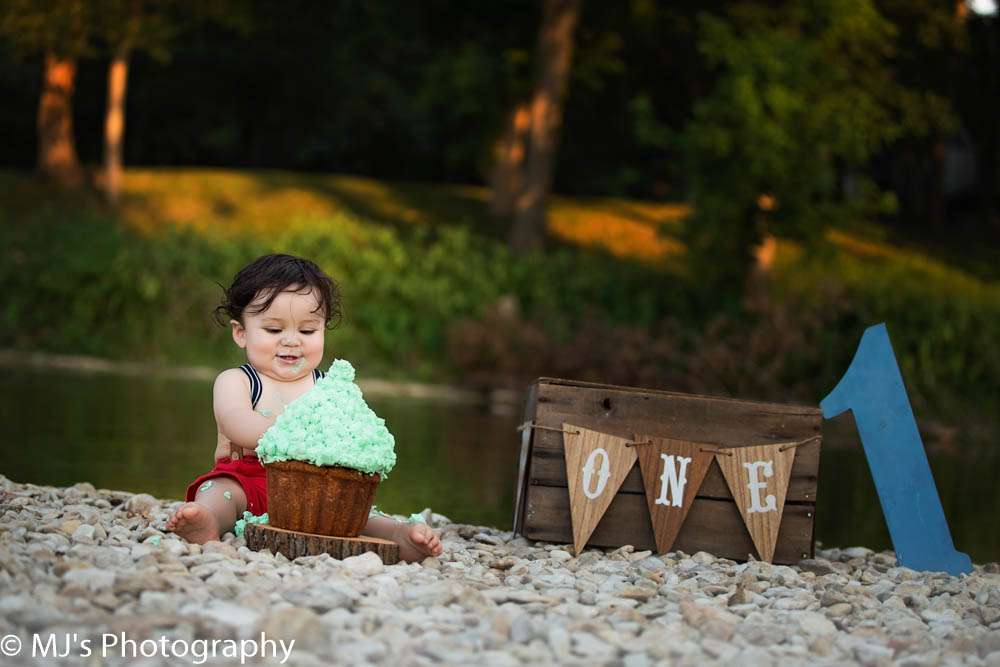 Katy first birthday photography