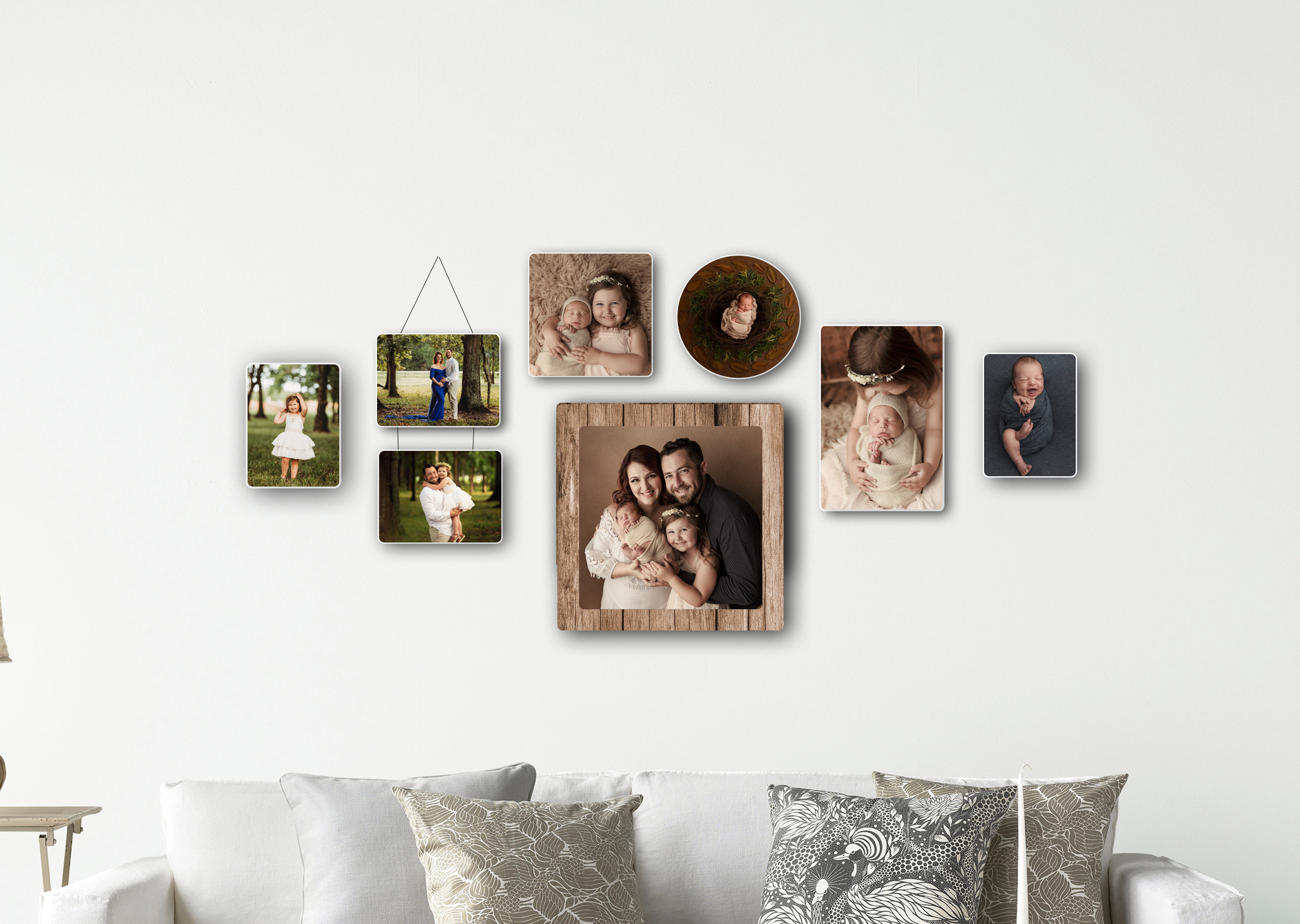 Imported Wood Blocks- Professional portrait photographer in Katy