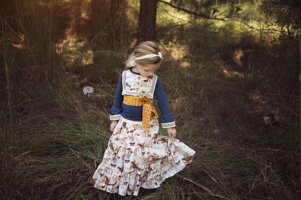 Spring child photographer