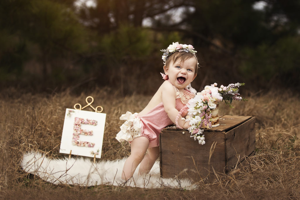 East Texas first birthday photographer
