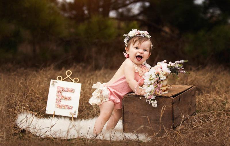 Elise is one! MJ's Photography – Houston baby photographer