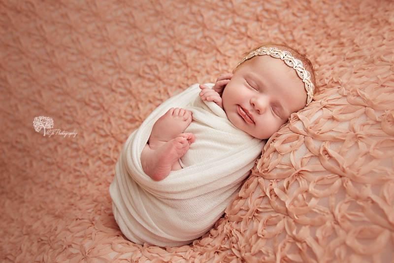 Fulshear newborn portrait