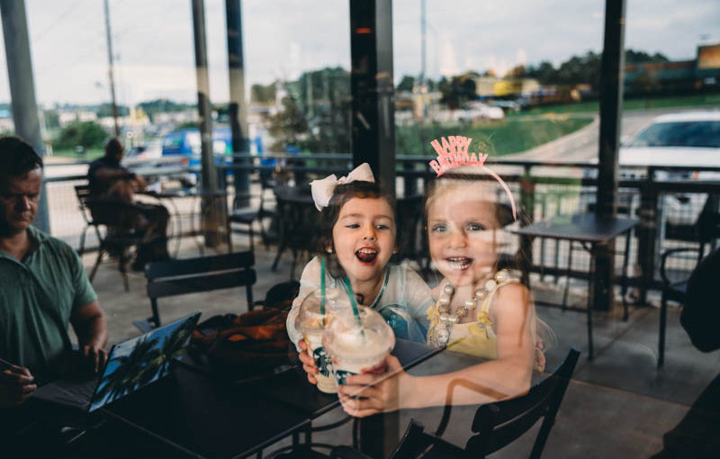 Family photography Cypress tx – Starbucks birthday