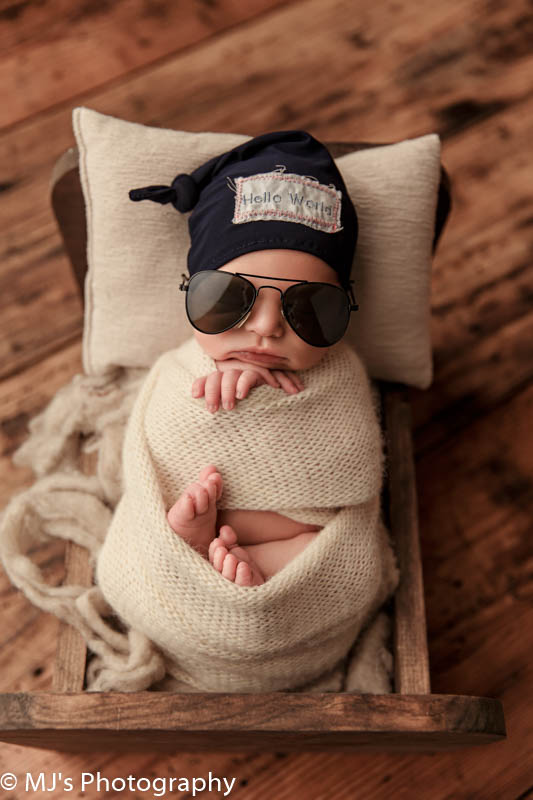 The Heights newborn photographer
