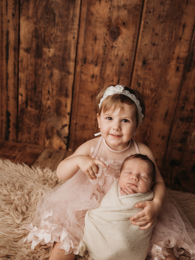 Newborn photographer in The Heights
