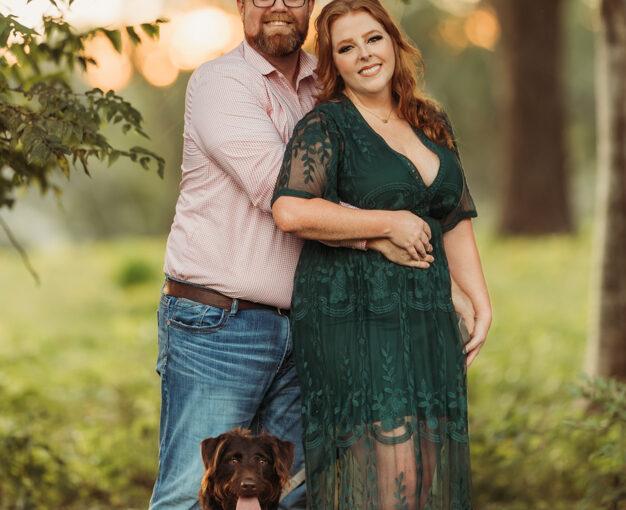 Fulshear Engagement photographer