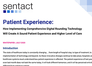 Patient Experience whitepaper thumbnail