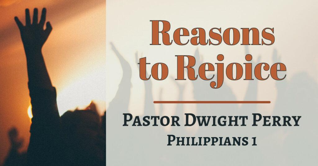 Reasons to Rejoice