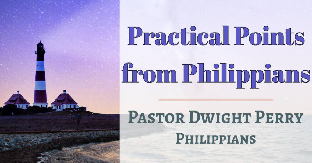 Practical Points from Philippians