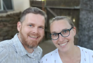 Picture of Pastor Mark and his wife Rachel.