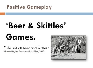 A slide from my Computer Game Design class at the University of Iowa.