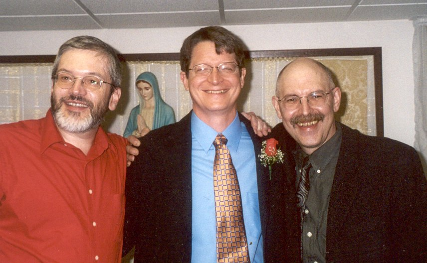 (left to right) Ed Isemberg, Andy Kanakares, Ezra Sidran. Not pictured; Mike Pash.