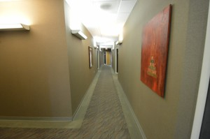 Hallway Office Space Executive Suites Chandler