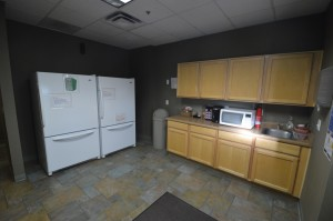 Kitchen - Fridge focus Office Space Executive Suites Chandler