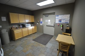 Kitchen - Microwave focus Office Space Executive Suites Chandler