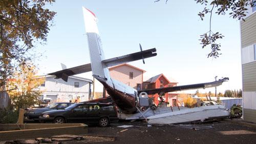 Weather, pilot error factors in Yellowknife crash